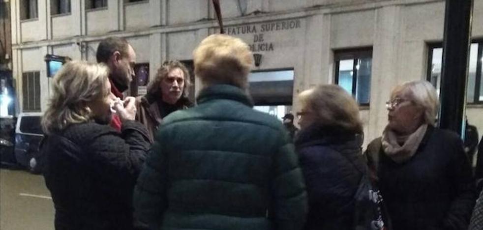 Tres detenidos por su presunta relación con los destrozos en las obras del AVE