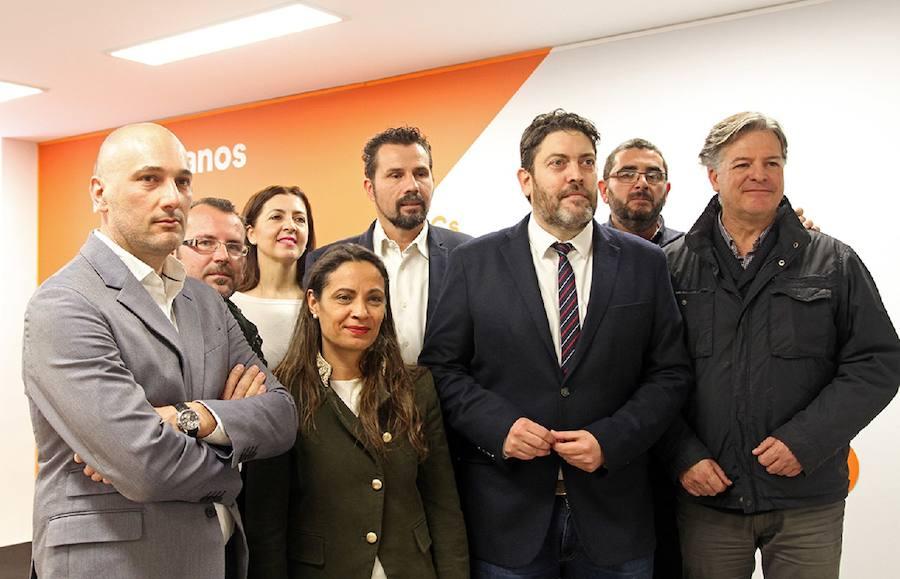 Ciudadanos pide la cabeza de Roque Ortiz para aprobar los presupuestos