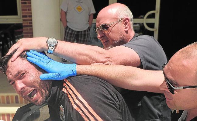 Piden ocho años al acusado de coser a cuchilladas a su esposa en un bar