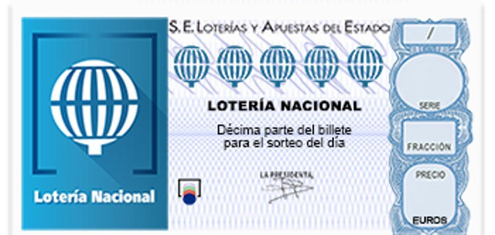 El segundo premio de la Lotería Nacional recae en Murcia