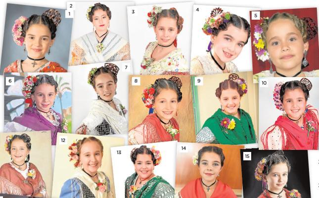 Treinta y tres candidatas a Reina Infantil
