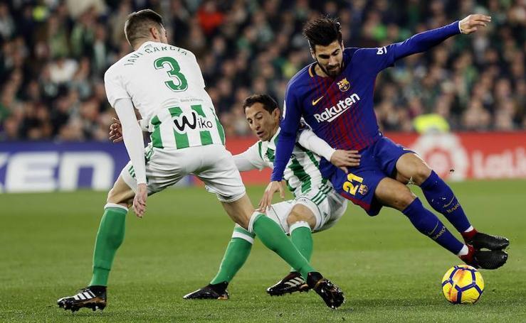 Las mejores imágenes del Betis-Barcelona