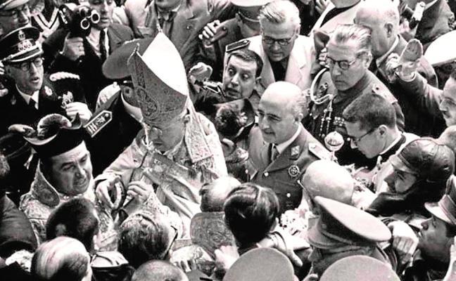 La medalla que Murcia creó para honrar a Franco