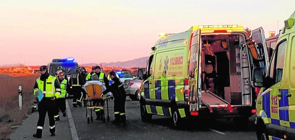 Dos muertos y nueve heridos en Torre Pacheco por una cabezada al volante