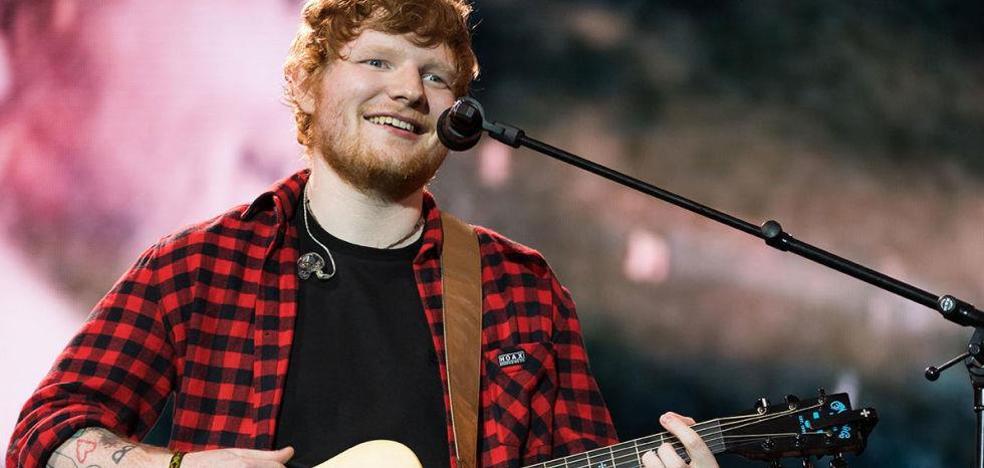 El cantante Ed Sheeran se casa