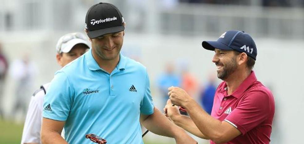 Jon Rahm y Sergio García relanzan el golf español