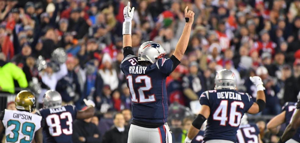 Brady ya sueña con su sexta Superbowl
