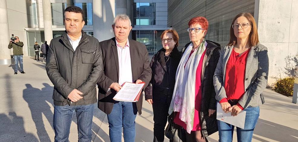 El PSOE presenta ante la Fiscalía los audios del 'caso Ortiz'