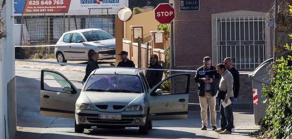 La viuda del asesinado en Beniaján hablaba con él por móvil cuando recibió los disparos