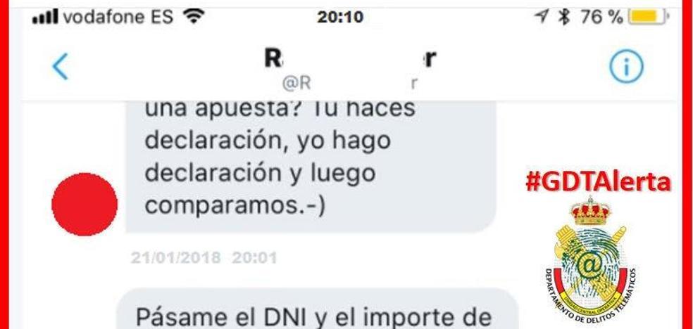 Alertan del timo de la declaración de la Renta que ya ha llegado a Murcia