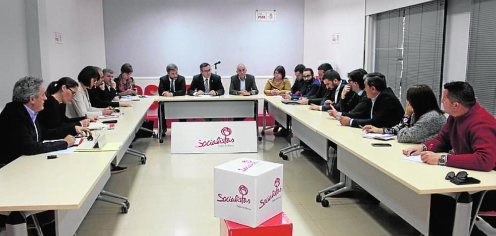 Los alcaldes del PSOE exigen un nuevo eje desde Lorca a Cieza