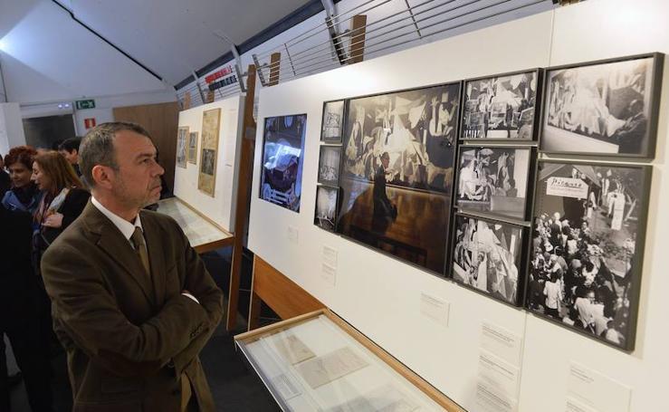 Presentacion de la exposición 'Picasso, el viaje del Guernica'
