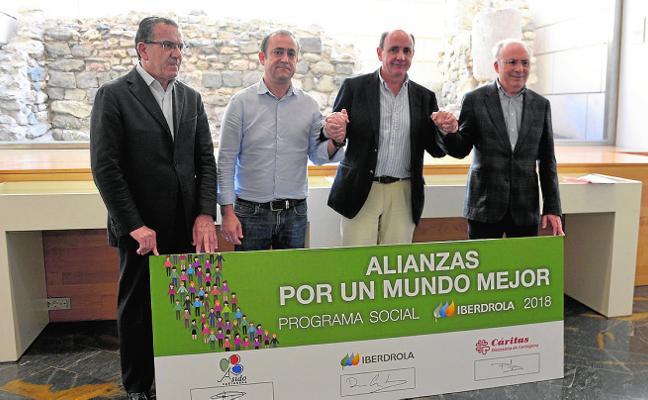Iberdrola apoya a Asido y Cáritas Diócesis de Cartagena