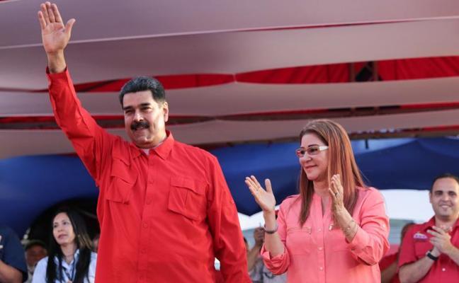Maduro, en el inicio de su campaña: «¡Vamos a barrer!»