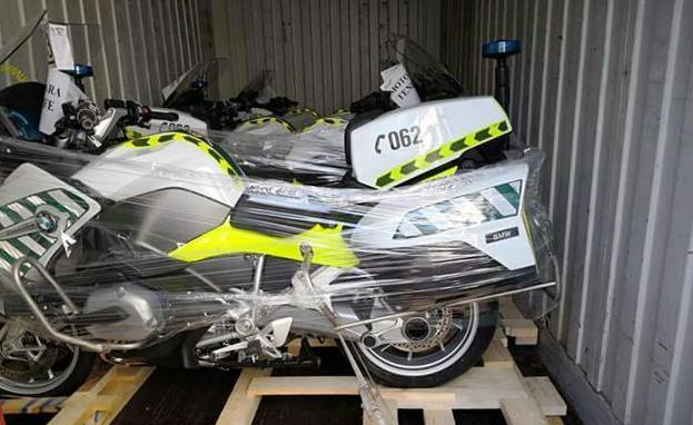 Así son las nuevas motos de la Guardia Civil con radar láser incorporado