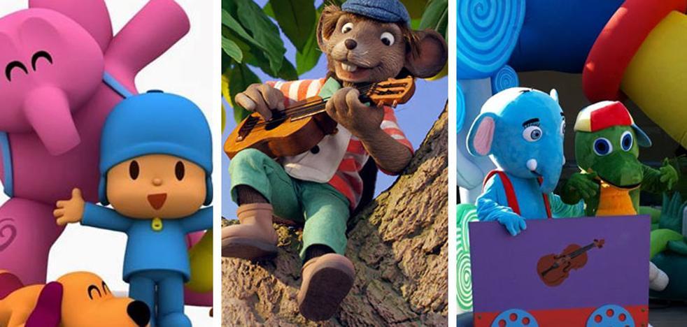 Musicales infantiles, cuentos y animales del bosque