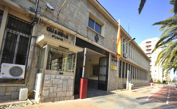 Cuartel de la Guardia Civil de Cartagena. /A. Gil/ AGM