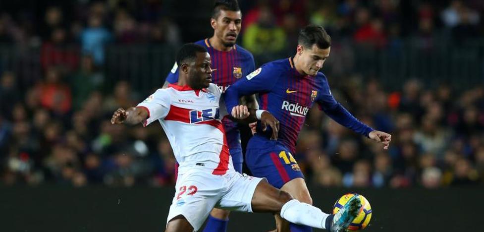 La ubicación de Coutinho, un dilema para Valverde