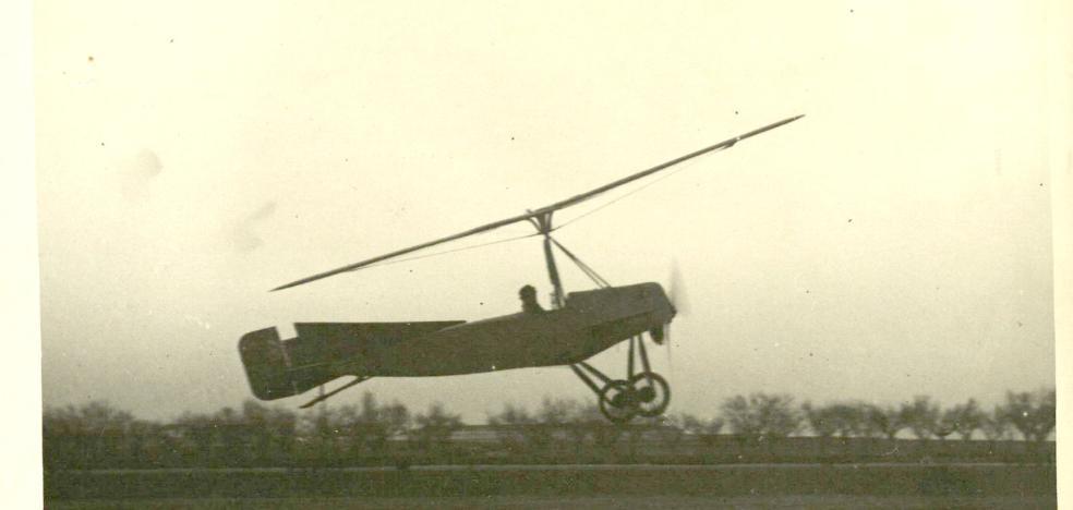 El autogiro celebra los 95 años de su primer vuelo en Cuatro Vientos