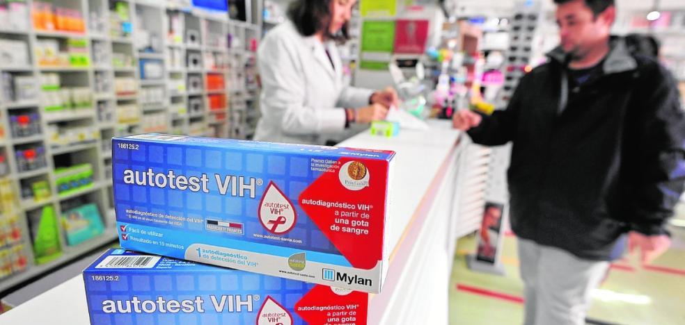 Las pruebas rápidas para la detección del VIH ya están disponibles en las farmacias