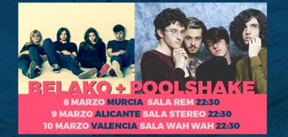 Poolshake se unen a Belako en la gira de presentación del WAM Estrella de Levante