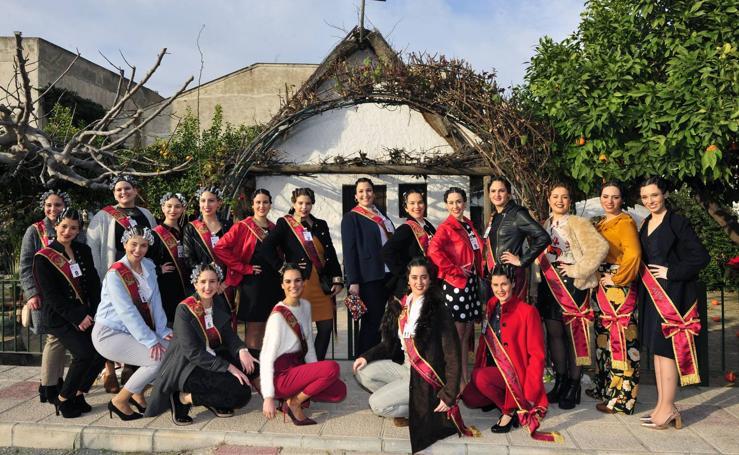 Las candidatas a Reina de la Huerta viajan a Madrid