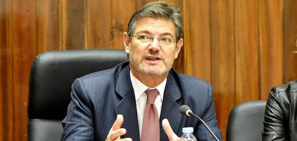 Catalá da por hecho que Puigdemont y los excargos serán inhabilitados «en dos meses»