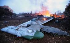 Rebeldes sirios derriban un avión ruso y matan al piloto