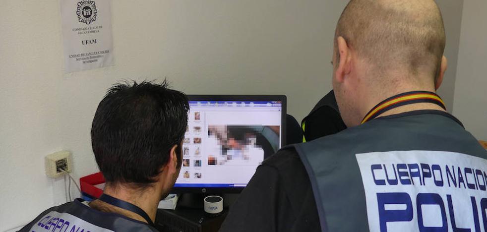 Detenido en Alcantarilla por enviar imágenes de contenido sexual a niñas menores de 14 años
