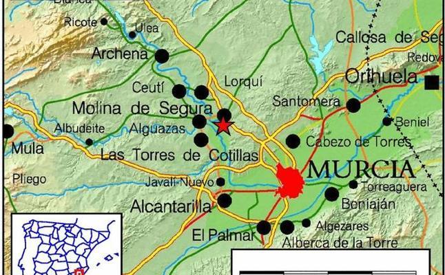 Un terremoto de 2,5 grados se deja sentir en Molina