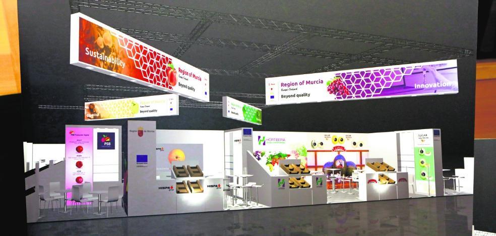 La Región venderá en Fruit Logistica una agricultura que va «más allá de la calidad»