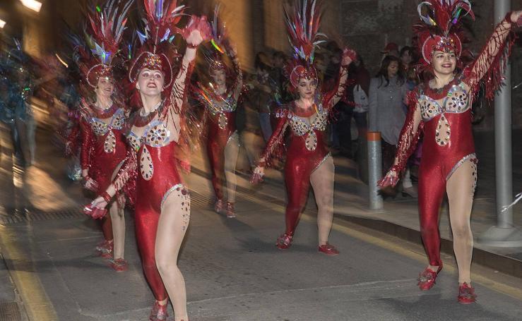 Las coreografías toman el centro de Cartagena