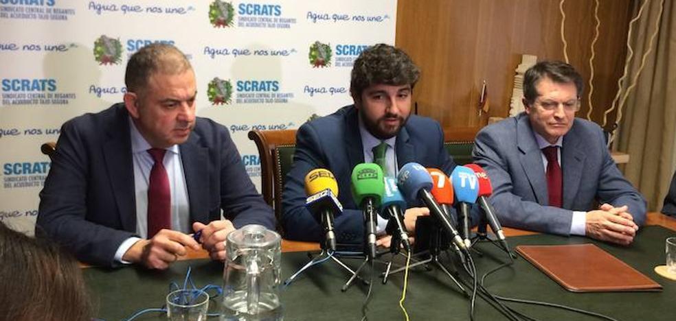 Miembros del Gobierno regional acompañarán a los regantes en la protesta de Madrid
