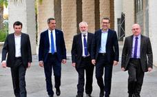 Cinco candidatos para un Rectorado