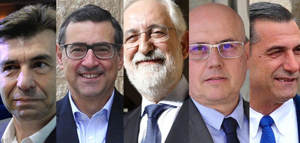 Los candidatos a rector de la UMU presentan sus proyectos
