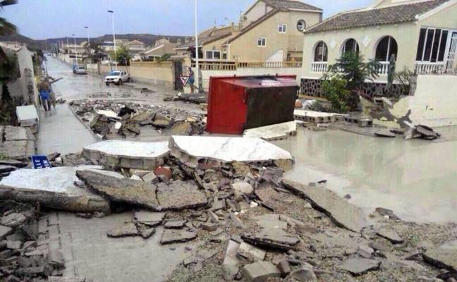 Condenan al Consistorio a pagar 1,4 millones por obras en la red de alcantarillado de Camposol