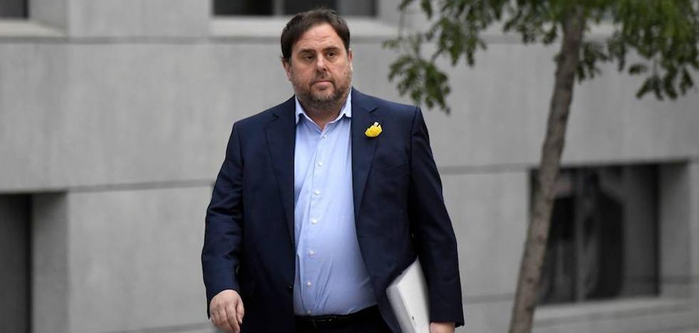 Junqueras dijo a Llarena que el independentismo tiene «recorrido amplio» en la Constitución