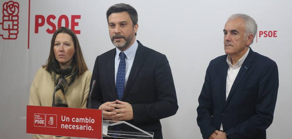 EL PSOE exige una línea de cercanías entre Murcia y Cartagena