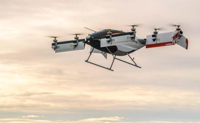 El taxi dron de Airbus completa su primer vuelo