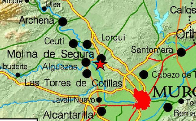 Un temblor de 2,6 grados despierta a los vecinos de Molina