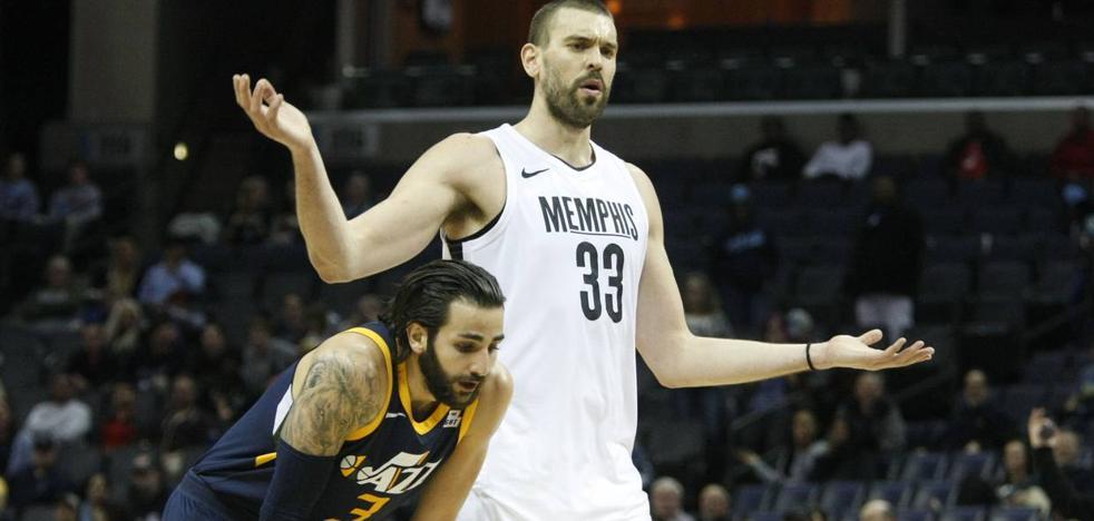 Ricky lidera el triunfo de los Jazz ante los Grizzlies de Marc Gasol