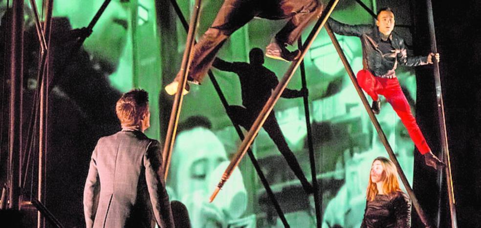 La rabia, las dudas y las contradicciones caben en el circo