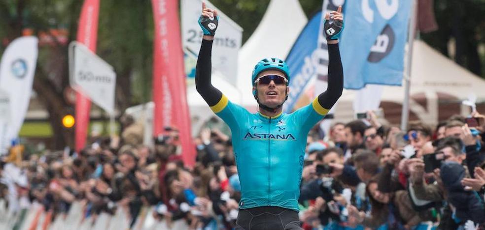 El muleño Luis León se impone en la Vuelta a Murcia