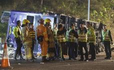 19 muertos y 60 heridos al volcar un autobús de dos pisos en Hong Kong