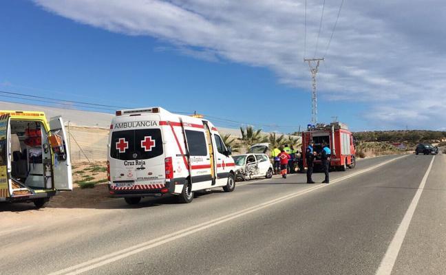 Dos muertos en dos accidentes en Mazarrón y Torre Pacheco