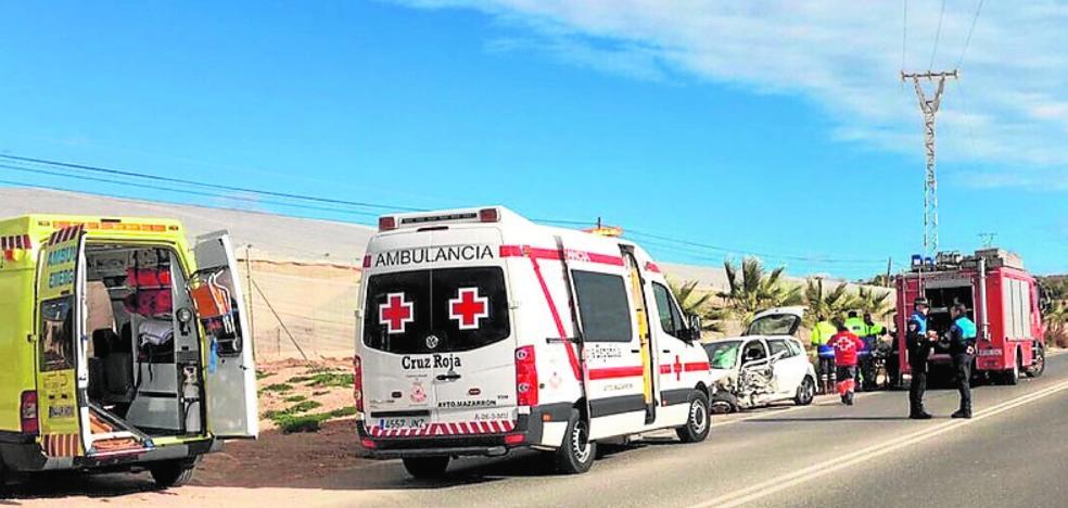 Dos fallecidos en accidentes en Mazarrón y Torre Pacheco