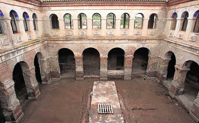 La restauración de San Ginés ya deja ver valiosos espacios olvidados del monasterio