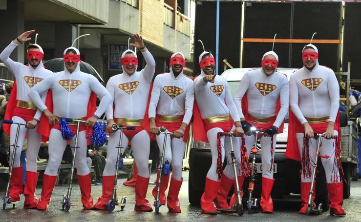 Desfile de Lunes de Carnaval en Cabezo de Torres