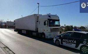 Un camionero da positivo en droga tras ser interceptado por exceso de velocidad en Murcia