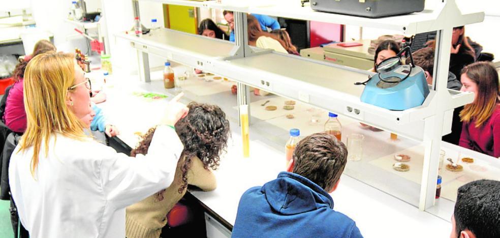 Alumnos de Bachillerato conocen las salidas laborales de los ingenieros agrónomos